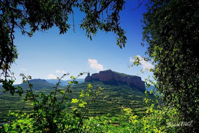 Ven a conocer un pueblo que fue Reyno, VIGUERA Cerro del Castillo de Viguera