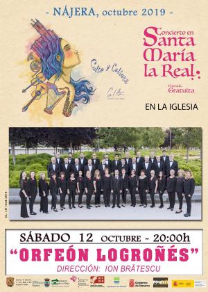 Concierto Coral en Santa María La Real de Nájera