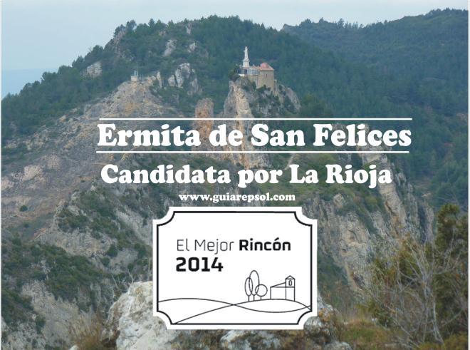 Turismo hace un llamamiento a todos los riojanos para que voten a favor de la candidatura de San Felices a 'Mejor Rincón 2014' de España