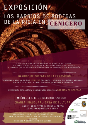 Exposición: Los barrios de bodegas de La Rioja