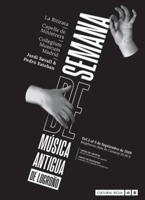 Un concierto sobre la música española para Europa y América inaugura la 21ª 'Semana de Música Antigua de Logroño'