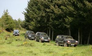 Conoce La Rioja también en primavera… Ruta en 4x4 por la naturaleza y la aventura, verde de prados, hayedos y pinares.