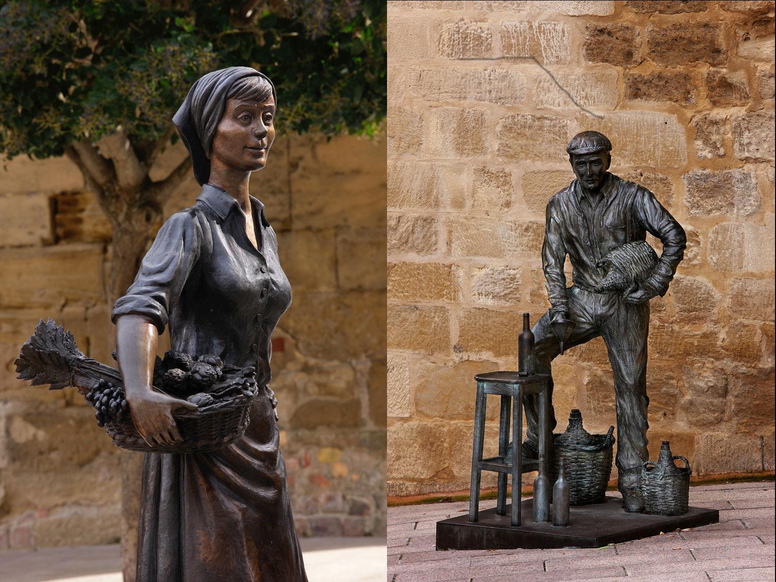 Museo al aire libre - Esculturas con sabor a Haro - Lugar de ...