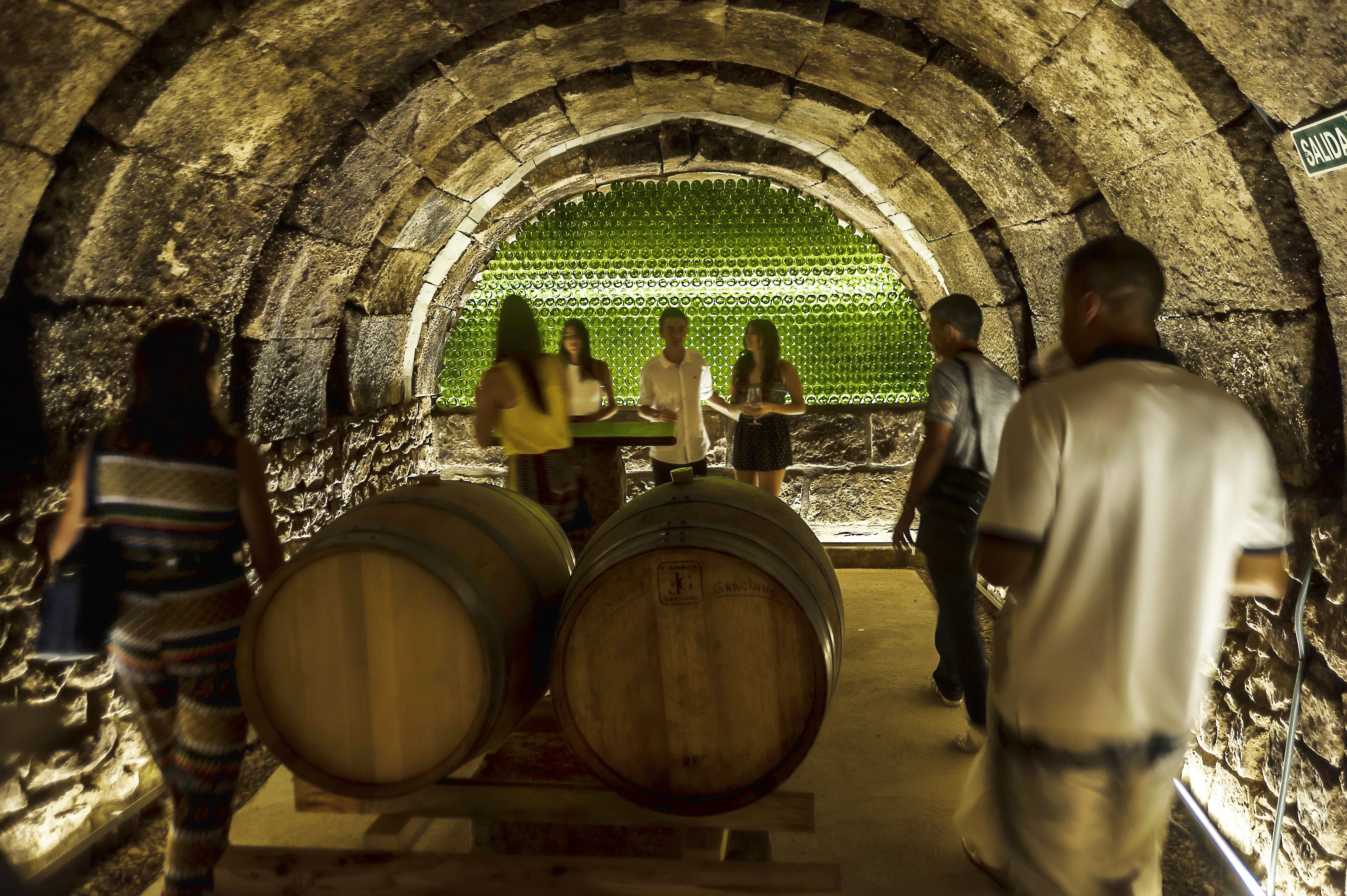 VISIT OUR WINE CELLARS