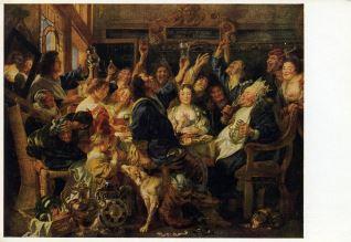 Des Fest des Bohnenkönigs
