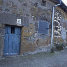 Barrio bodegas Villalba de Rioja