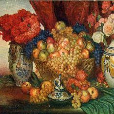 Bodegón frutas