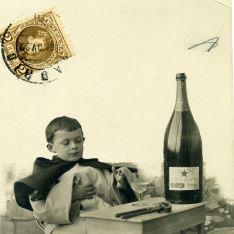Monaguillo y champagne
