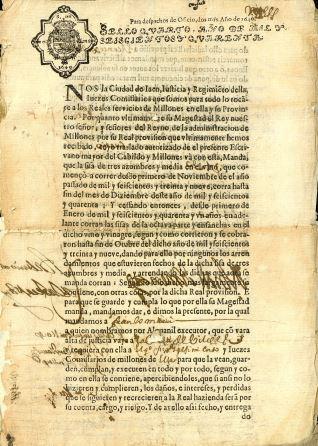Correspondencia - 1640, noviembre, 29. Jaén