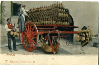 Firenze - Scaricamento del vino