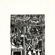 Ex Libris de Ferenc Bordás