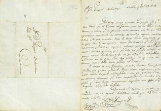 Correspondencia - 1839, enero, 27. Lesaca (Navarra)