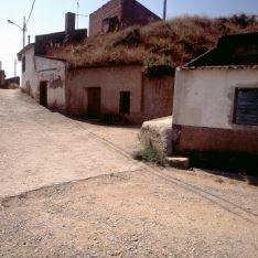Barrio bodegas El Villar de Arnedo