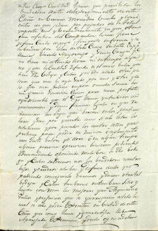 Ventas - 1843, noviembre, 8. Trigueros (Huelva)