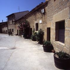 Barrio bodegas Sajazarra