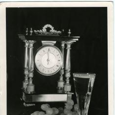 Reloj y racimo