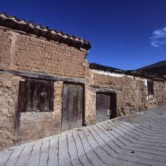 Barrio bodegas Hornos de Moncalvillo