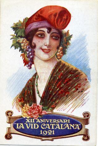 "XII Aniversari ""La vid Catalana"" (1921)"