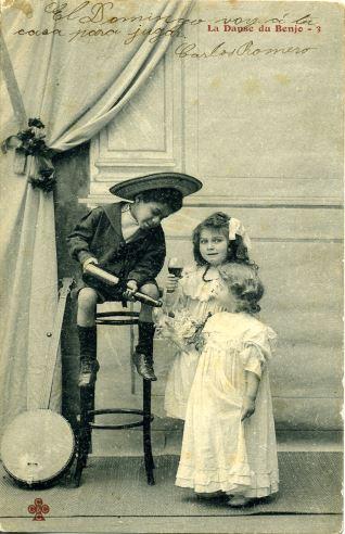 Niños con banjo