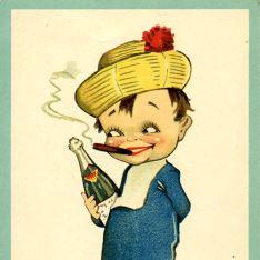 El champagne y los puros...