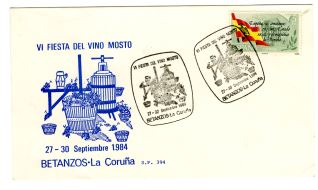 Tarjeta conmemorativa - Betanzos (A Coruña)