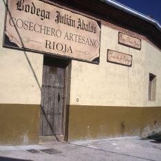 Fachada Bodega Julián Abalos