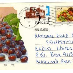 Entero postal - Johannesburg