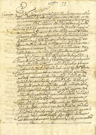 Ventas - 1615, abril, 21. Tudela (Navarra)