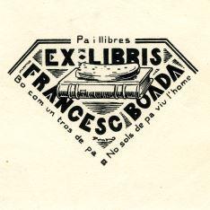 Ex Libris de P. Prats