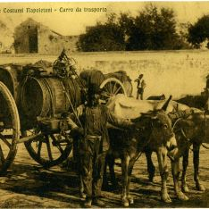 Transporte de barricas (Nápoles)