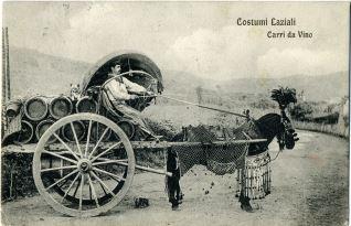 Costumi Laziali - Carri da vino