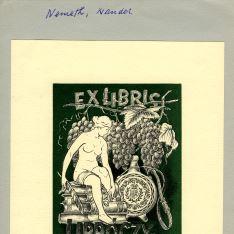 Ex Libris de Nemeth Nandor