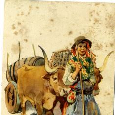 Costumes Portugueses - Carro de bueyes
