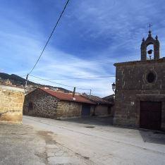 Barrio bodegas y ermita Villalba de Rioja
