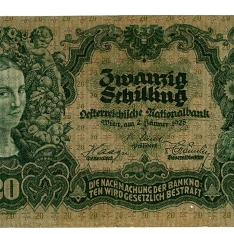 Billete de veinte schiling