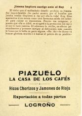 """Colección de treinta cromos. """"El Cid Campeador"""". """"Piazuelo"""". Logroño"""