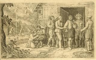 Icario y los pastores