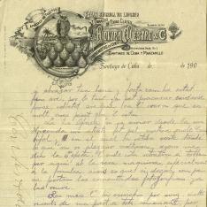 Correspondencia - 190?/1909