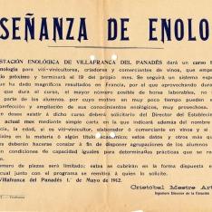 Cursos y congresos - 1912