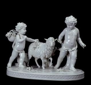 Amorcillos con oveja