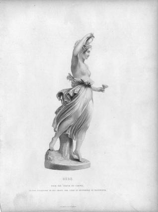 Escultura de Hebe
