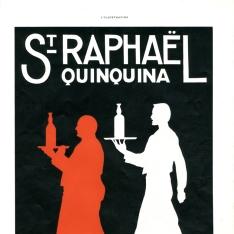 Cartel publicitario de St. Raphaeé Quinquina