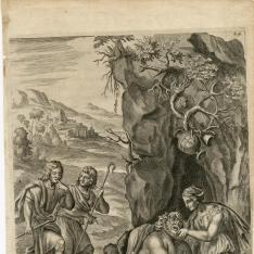 Sileno forzado a cantar por los pastores
