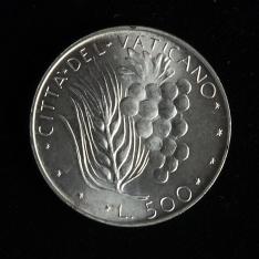 Moneda de quinientas liras