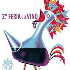 Cartel anunciador de la V Fiesta de la Vendimia Riojana (Logroño)