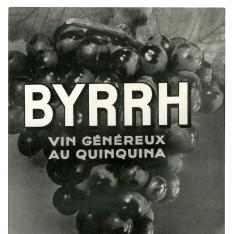 Cartel publicitario de Byrrh