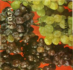 """Folleto """"Rioja-Espagne"""". """"La Rioja produit des vins de qualite pour les plats typiques"""""""