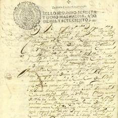 Pleitos - 1700, septiembre, 11