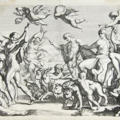 Triunfo de Baco y Ariadna