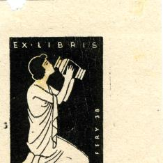 Ex Libris de Fery Antal